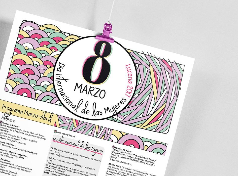 Cartel 8 marzo diev