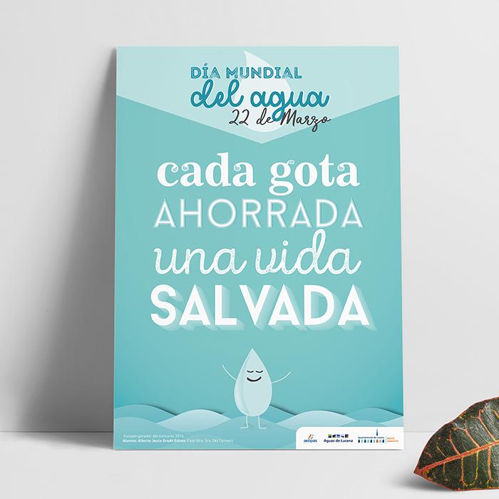 Cartel Día Mundial Agua