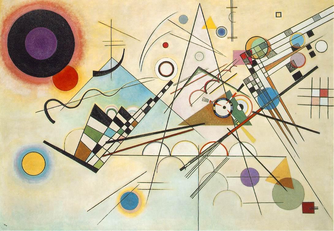 Composition VIII - Wassily Kandinsky