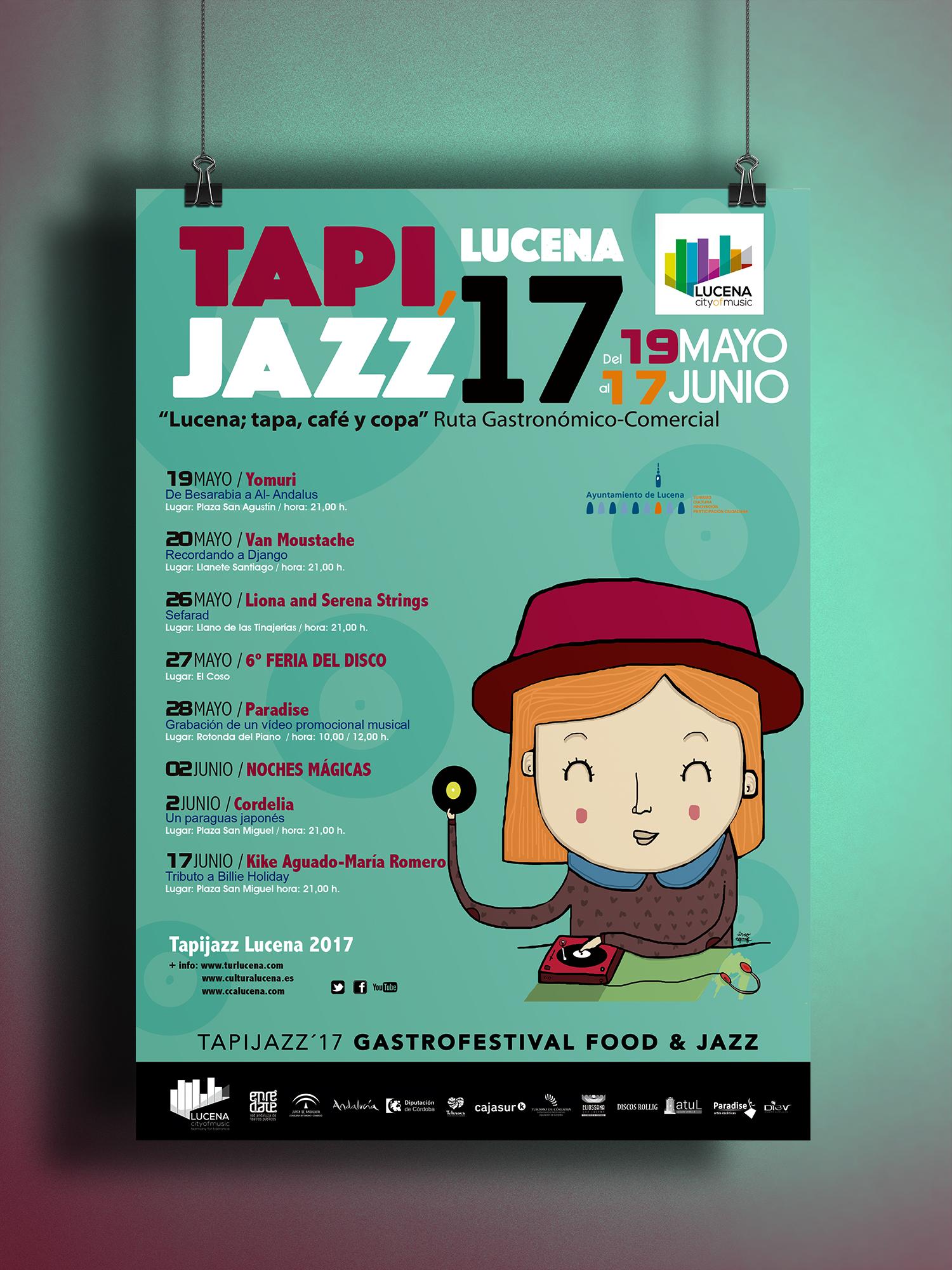 Evento Lucena Tapijazz 2017