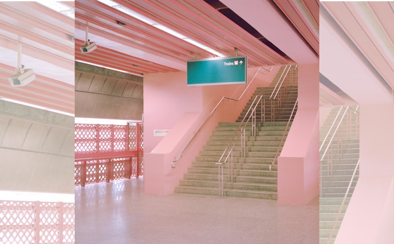 Estación de tren en Singapur