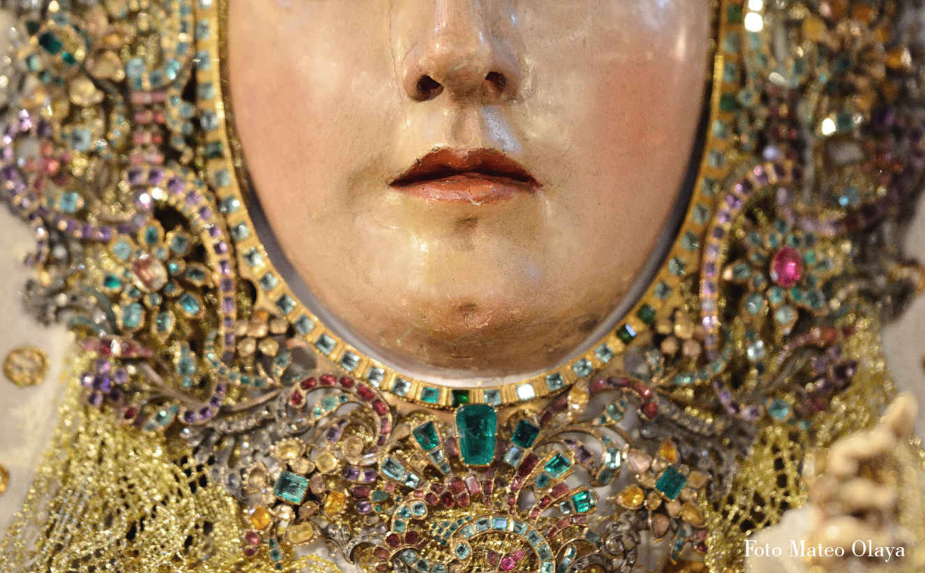 Virgen de Araceli por Mateo Olaya