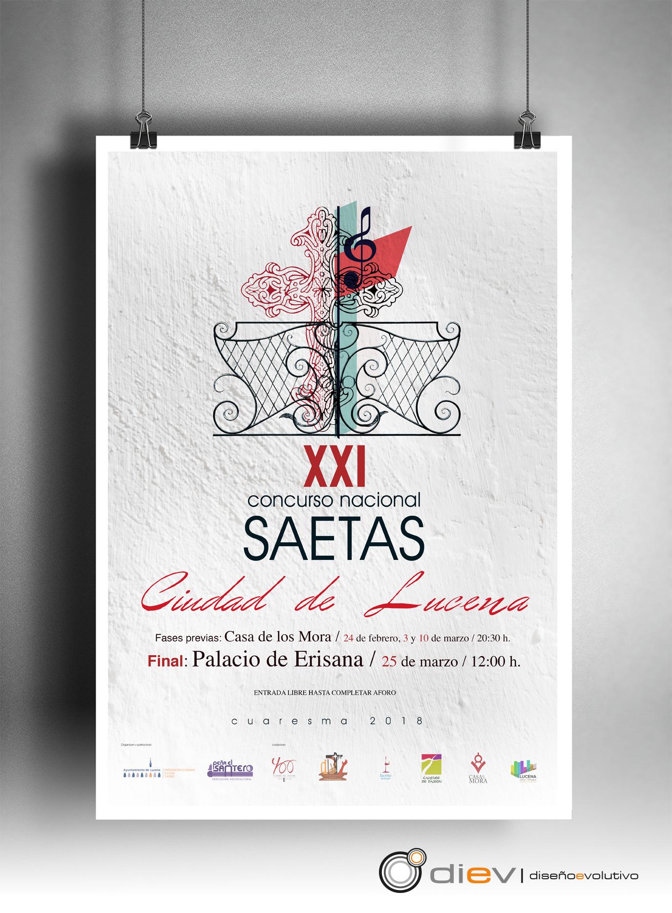 "XXI Concurso Nacional de Saetas ""Ciudad de Lucena"""