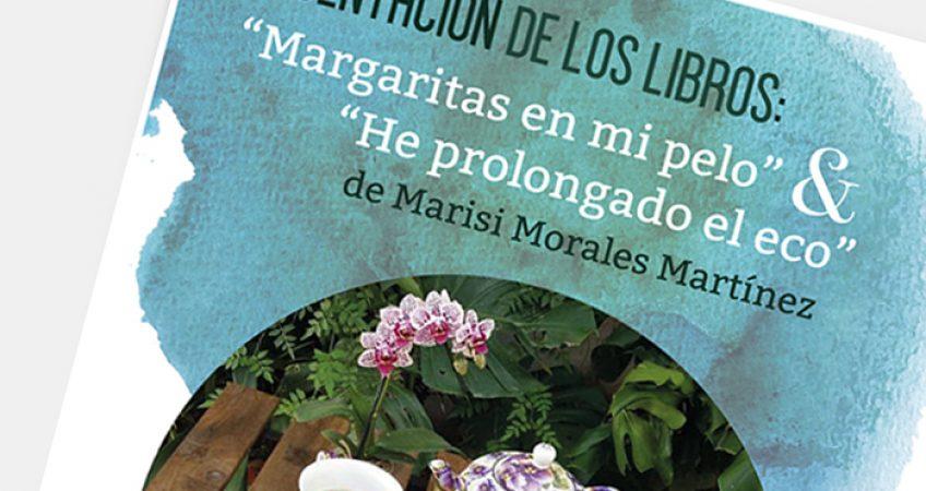 Cartel Presentación Libros Margarita diev