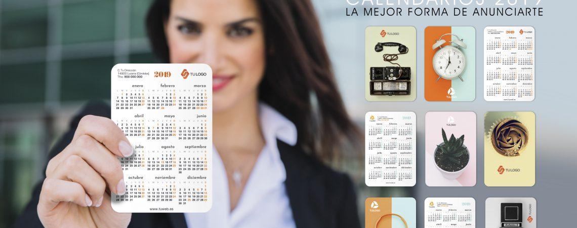 El calendario personalizado, el regalo de empresa con que estar presente siempre con vuestro cliente.