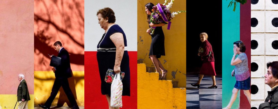 Jose Toro fotografía, serie Walkers
